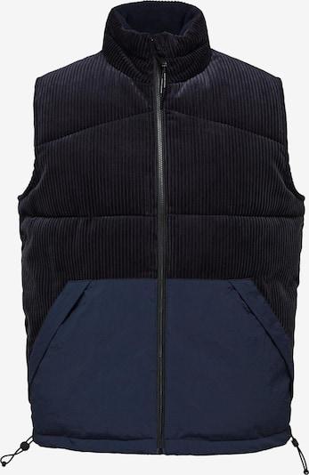 SELECTED HOMME Weste 'Thomas' in navy / violettblau, Produktansicht