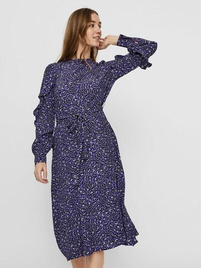 VERO MODA Kleid in marine / schwarz / weiß, Modelansicht