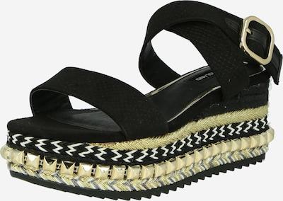 River Island Sandały z rzemykami w kolorze czarnym, Podgląd produktu