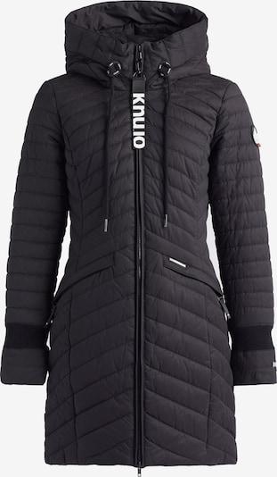 khujo Wintermantel 'TOOTS2' in de kleur Zwart, Productweergave