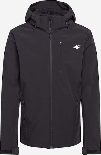 4F Outdoorová bunda - čierna / biela, Produkt
