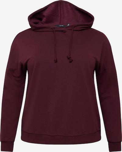 Vero Moda Curve Sweat-shirt 'OCTAVIA' en bourgogne, Vue avec produit