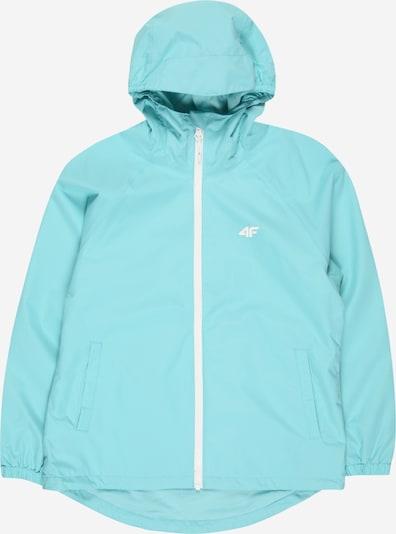 4F Sportjas in de kleur Mintgroen / Wit, Productweergave