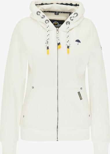 Schmuddelwedda Sweatjacke in navy / weiß, Produktansicht