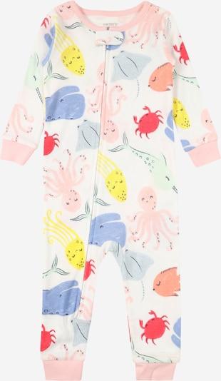 Carter's Pyjama en mélange de couleurs / blanc, Vue avec produit