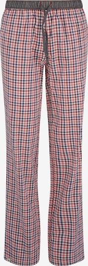 Luca David Pyjama-Pants ' Olden Glory ' in grau / orange / rot, Produktansicht