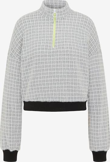 MYMO Pullover in schwarz / weiß, Produktansicht