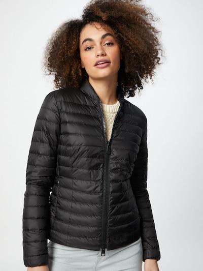 Peuterey Between-season jacket 'Opuntia' in black: Frontal view