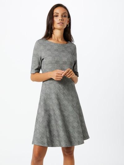 EDC BY ESPRIT Šaty 'Check Fit&Flare' - šedá / černá, Model/ka