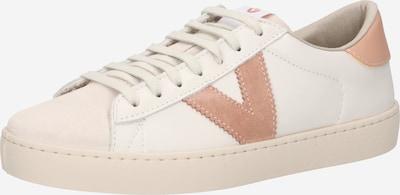 VICTORIA Zapatillas deportivas bajas 'BERLIN' en crema / altrosa, Vista del producto