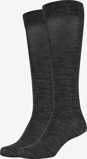 camano Kniestrümpfe 'ca-soft Wool' in anthrazit, Produktansicht