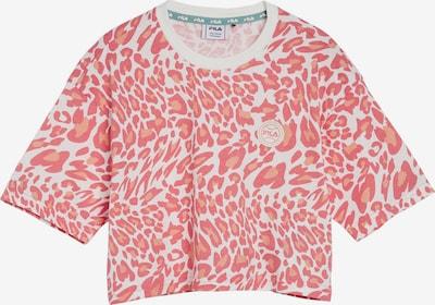 FILA T-Shirt 'Prisha' en rose / blanc, Vue avec produit