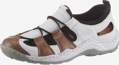 RIEKER Sneaker in braun / schwarz / weiß, Produktansicht