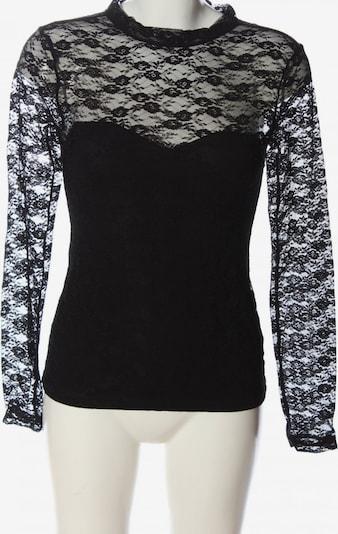 H&M Seidenbluse in S in schwarz, Produktansicht