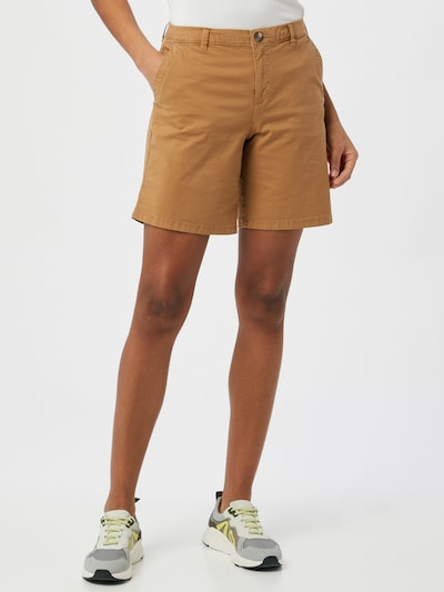 EDC BY ESPRIT Shorts in karamell, Modelansicht