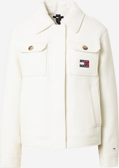 Tommy Jeans Veste mi-saison en blanc, Vue avec produit