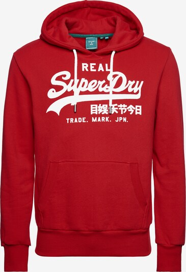 Superdry Snow Sweat de sport 'Rising Sun' en rouge / blanc, Vue avec produit