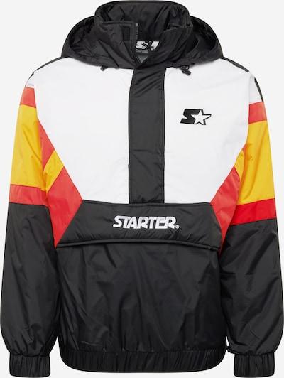 Demisezoninė striukė iš Starter Black Label , spalva - geltona / raudona / juoda / balta, Prekių apžvalga