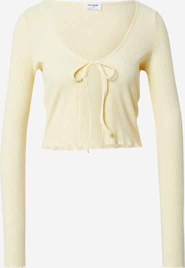 Cotton On Strickjacke 'VIVVY' in pastellgelb, Produktansicht