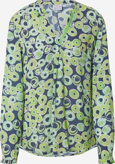 Emily Van Den Bergh Bluza u boja pijeska / morsko plava / zelena, Pregled proizvoda