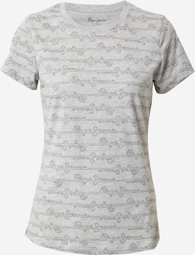 Pepe Jeans Tričko 'CECILE' - tmavě šedá / šedý melír, Produkt