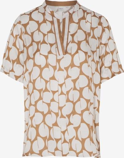 ETERNA Bluse in hellbeige / weiß, Produktansicht