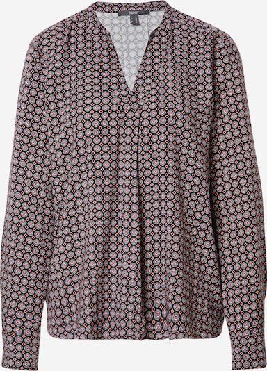 Esprit Collection Bluse in koralle / rot / schwarz / weiß, Produktansicht