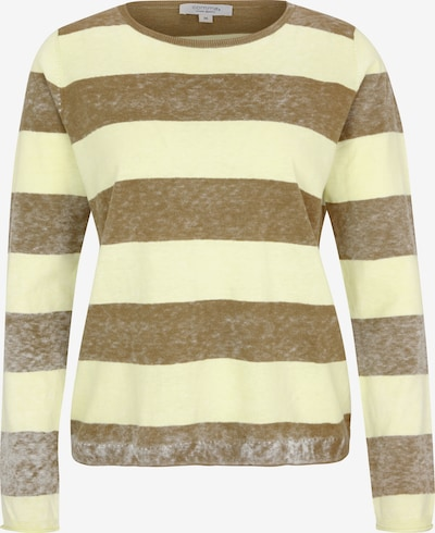 Ci comma casual identity Pullover in braun / grün, Produktansicht
