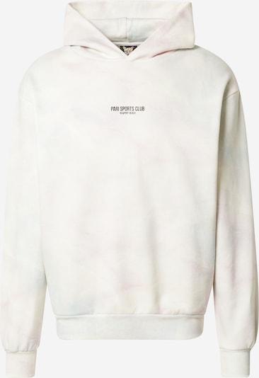 PARI Sweat-shirt 'SPORTS CLUB' en bleu pastel / rose pastel / blanc, Vue avec produit