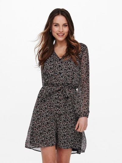ONLY Kleid 'CERA' in nachtblau / hellblau / hellgrün / rosa / rosé, Modelansicht