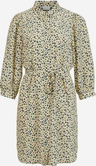 VILA Robe-chemise en crème / mélange de couleurs, Vue avec produit