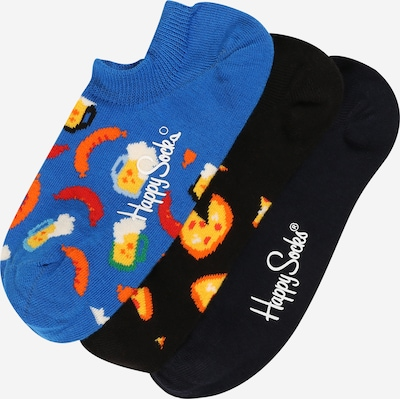 Happy Socks Socken 'Junk Food No Show' in blau / navy / mischfarben / schwarz, Produktansicht