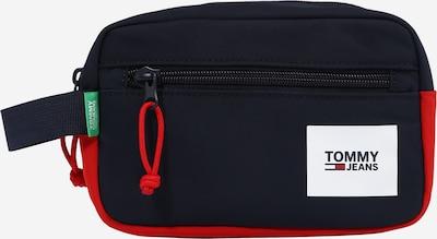 Tommy Jeans Toaletná taška 'URBAN' - námornícka modrá / ohnivo červená / biela, Produkt