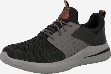 SKECHERS Sneaker 'Delson 3.0' in Schwarz