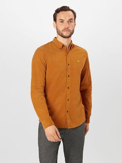 SCOTCH & SODA Overhemd in de kleur Cognac: Vooraanzicht