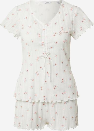 GUESS Korte pyjama in de kleur Rosé / Wit, Productweergave