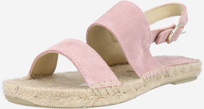 JUTELAUNE Sandale in rosa, Produktansicht