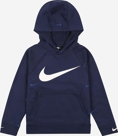 Nike Sportswear Sweatshirt in blau / navy / weiß, Produktansicht