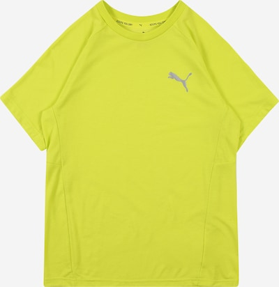 PUMA Camiseta funcional 'Evostripe' en amarillo oscuro / plata, Vista del producto