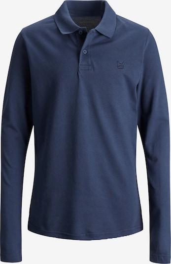 Jack & Jones Junior Poloshirt in blue denim, Produktansicht