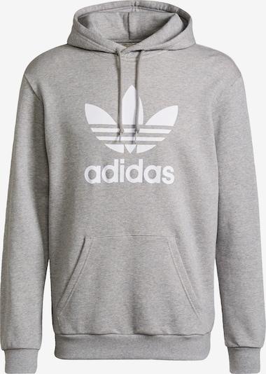ADIDAS ORIGINALS Sweater majica u siva / bijela, Pregled proizvoda