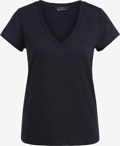 SET T-shirt en noir, Vue avec produit