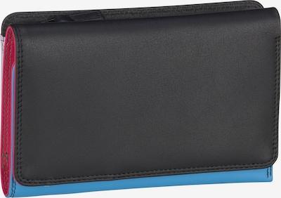 mywalit Geldbörse in blau / pink / schwarz, Produktansicht