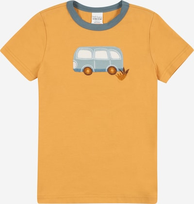 Fred's World by GREEN COTTON Shirt 'Hello bus' in Opal / Dusty blue / Auburn / Light orange / White, Item view
