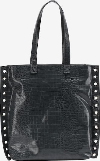 Pirkinių krepšys iš myMo ROCKS , spalva - juoda, Prekių apžvalga