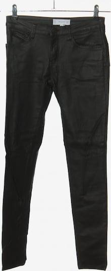 MANGO Kunstlederhose in S in schwarz, Produktansicht