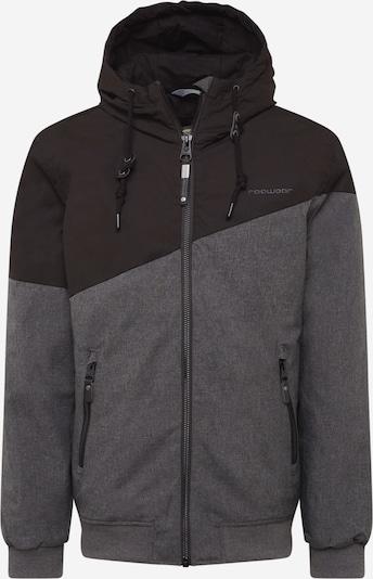 Ragwear Veste d'hiver 'Wings' en gris basalte / noir, Vue avec produit