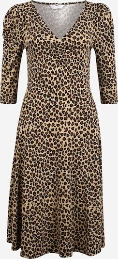 Suknelė iš Dorothy Perkins (Tall) , spalva - smėlio / ruda (konjako) / juoda: Vaizdas iš priekio