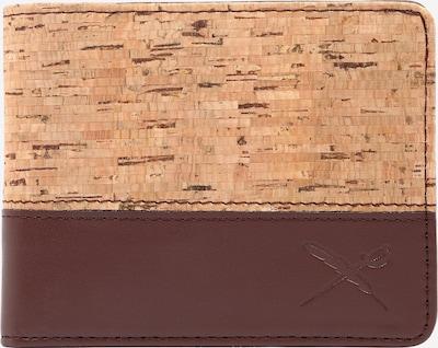 Iriedaily Porte-monnaies en chocolat / noisette, Vue avec produit