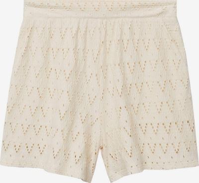 MANGO Kalhoty 'FRANCIS' - krémová, Produkt